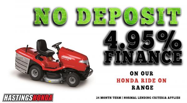 NO DEPOSIT RIDE ON MOWER6